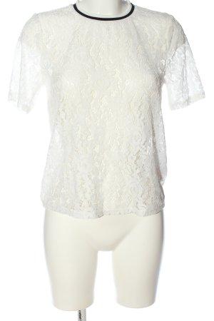 Only Kanten blouse wit elegant