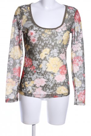 Only Spitzenbluse Blumenmuster Casual-Look