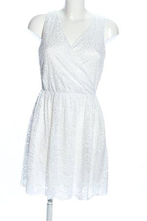 Only Lace Dress white flower pattern elegant
