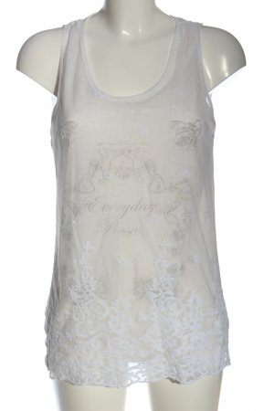 Only Lace Top white casual look