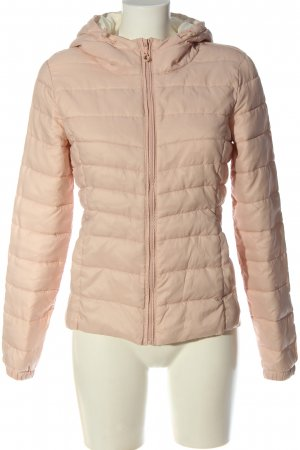 Only Steppjacke creme Steppmuster Casual-Look