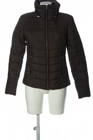 Only Steppjacke schwarz Steppmuster Casual-Look