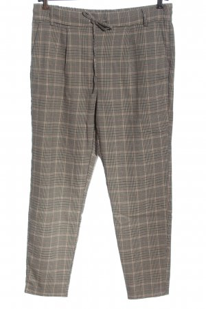 Only Jersey Pants check pattern casual look