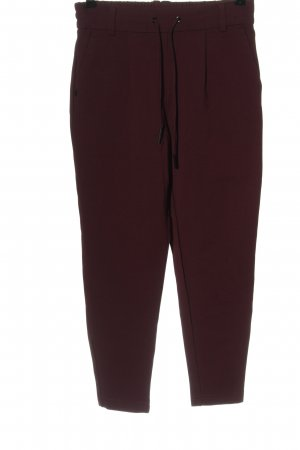 Only Jersey Pants red casual look