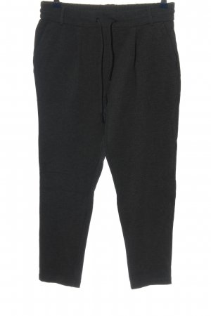 Only Stoffhose schwarz meliert Casual-Look