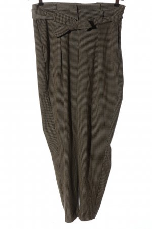 Only Stoffhose braun Allover-Druck Casual-Look
