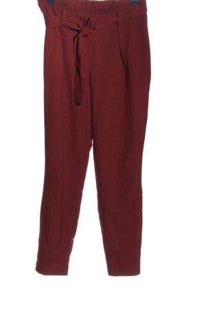 Only Stoffen broek rood zakelijke stijl