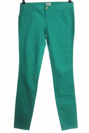 Only Stoffhose grün Casual-Look