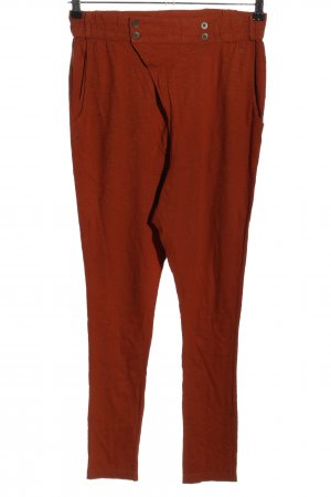 Only Stoffhose hellorange Casual-Look