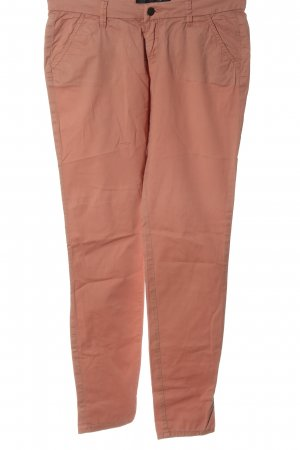 Only Pantalón tipo suéter rosa look casual