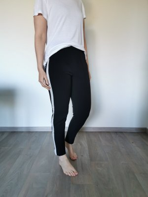 Only Jersey Pants white-black
