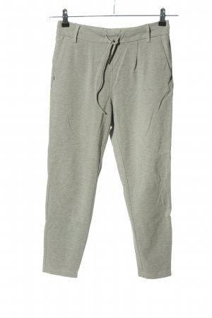 Only Stoffhose hellgrau meliert Casual-Look