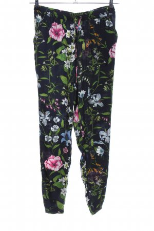 Only Stoffhose Blumenmuster Casual-Look