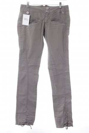 Only Stoffhose grau Casual-Look