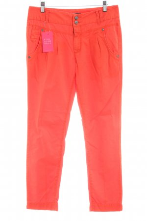 Only Stoffhose orange Casual-Look