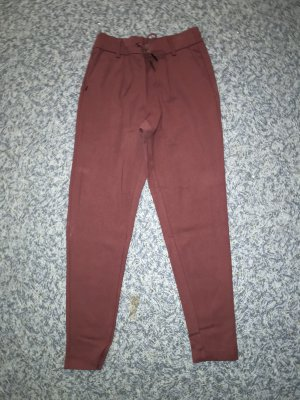 Only Stoffhose weinrot XS/34