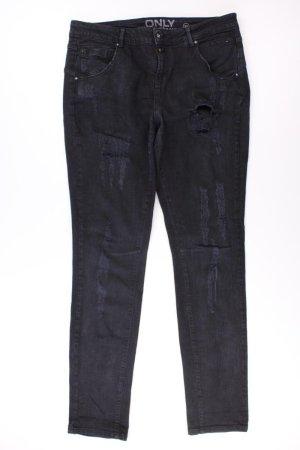 Only Straight Jeans Größe W30 schwarz aus Baumwolle
