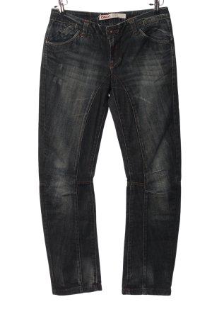 Only Jeans a gamba dritta grigio chiaro stile casual