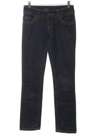 Only Straight-Leg Jeans dunkelblau klassischer Stil