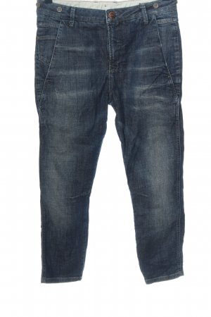 Only Straight-Leg Jeans blau Casual-Look