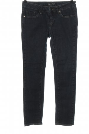 Only Jeansy z prostymi nogawkami niebieski W stylu casual