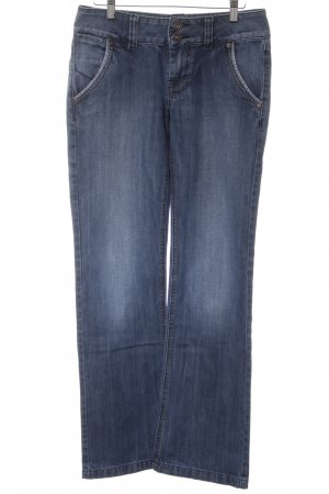 Only Straight-Leg Jeans dunkelblau Casual-Look