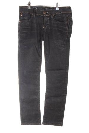 Only Jeansy z prostymi nogawkami czarny W stylu casual