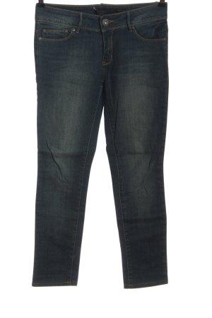 Only Jeansy z prostymi nogawkami niebieski Wzór w paski W stylu casual