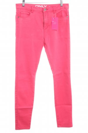 Only Straight-Leg Jeans hellrot Casual-Look