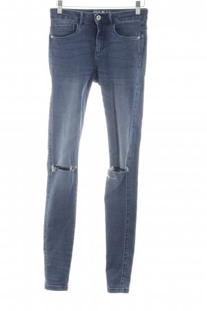 Only Stretch Jeans neonblau Casual-Look