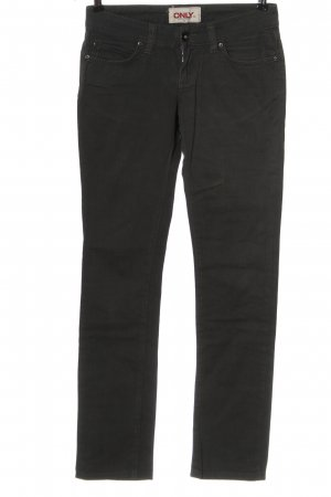 Only Stretch Jeans schwarz Elegant