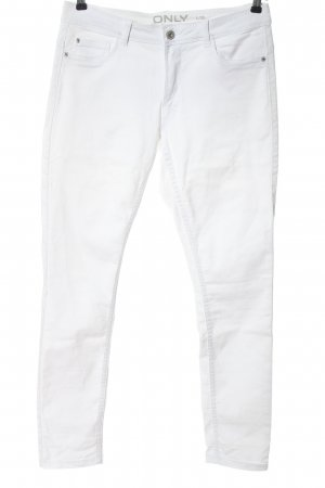 Only Stretchhose weiß Casual-Look