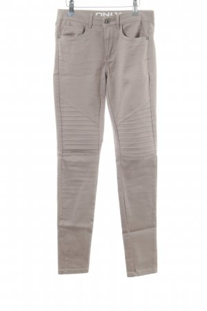 Only Stretchhose wollweiß Casual-Look