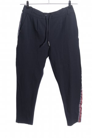 Only Stretchhose Streifenmuster Casual-Look