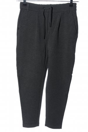Only Stretchhose hellgrau meliert Casual-Look
