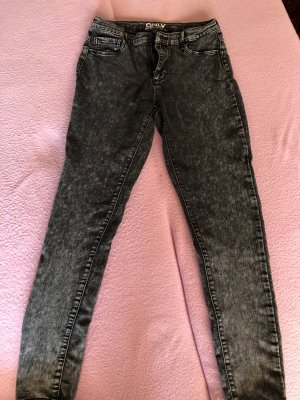 Only Stretchjeans schwarz