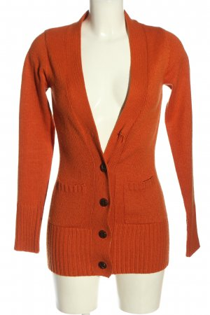 Only Strick Cardigan hellorange Casual-Look