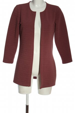 Only Strick Cardigan rot Casual-Look