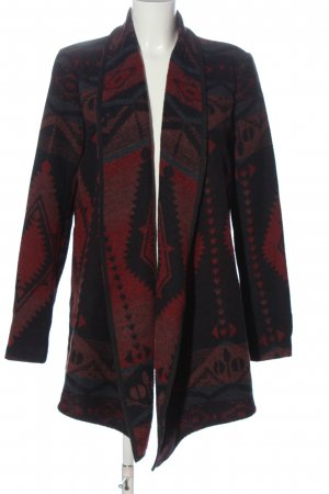 Only Strick Cardigan abstraktes Muster Casual-Look