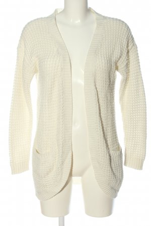 Only Strick Cardigan creme Casual-Look