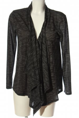 Only Strick Cardigan hellgrau-creme meliert Casual-Look
