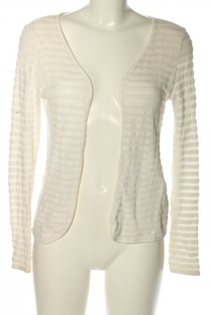 Only Strick Cardigan wollweiß Casual-Look