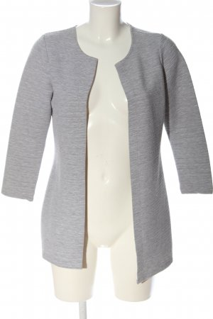 Only Strick Cardigan hellgrau meliert Casual-Look