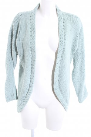 Only Strick Cardigan türkis Casual-Look