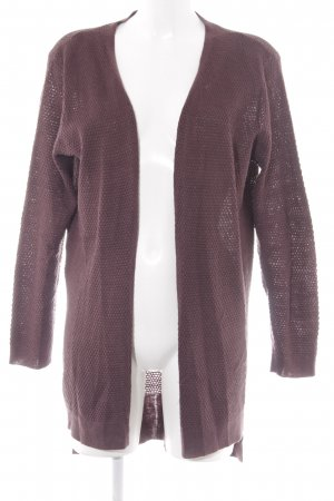 Only Strick Cardigan purpur Casual-Look