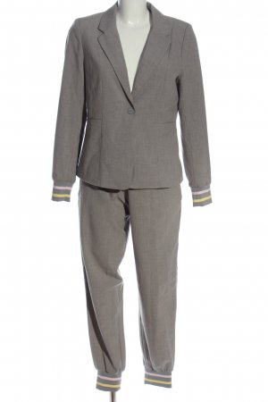 Only Twin Set punto gris claro look casual