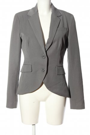 Only Knitted Blazer light grey business style