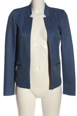 Only Strickblazer blau Casual-Look
