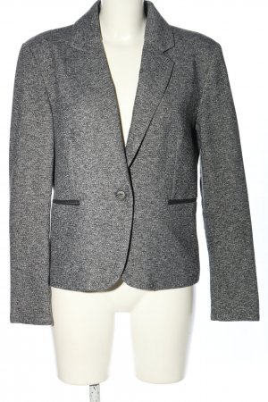 Only Blazer tejido gris claro moteado estilo «business»