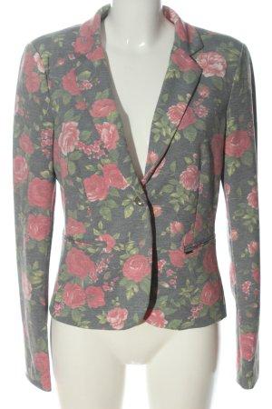 Only Blazer in maglia stampa integrale elegante